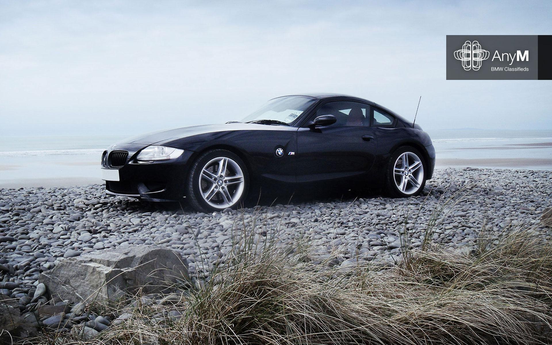 Wallpaper Beached Sapphire Black Z4m Coupe